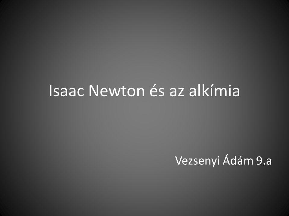 Isaac Newton és az alkímia