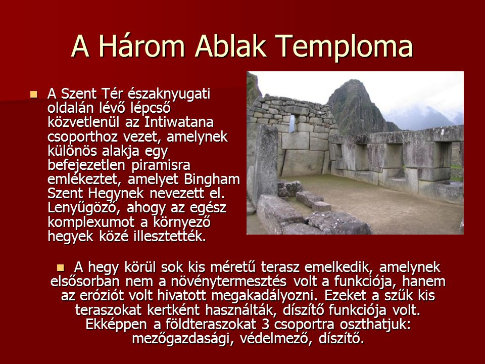 A Három Ablak Temploma