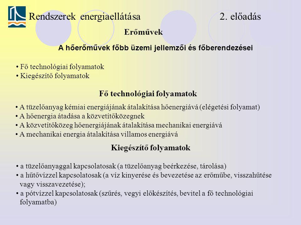 Rendszerek energiaellátása 2. előadás