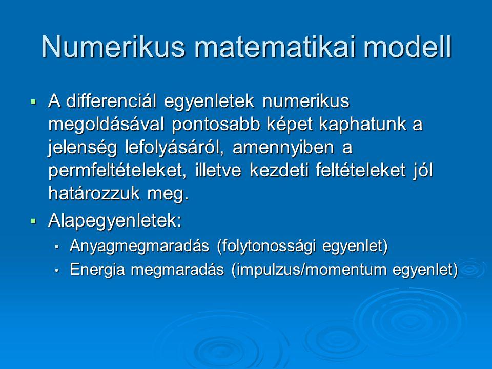 Numerikus matematikai modell