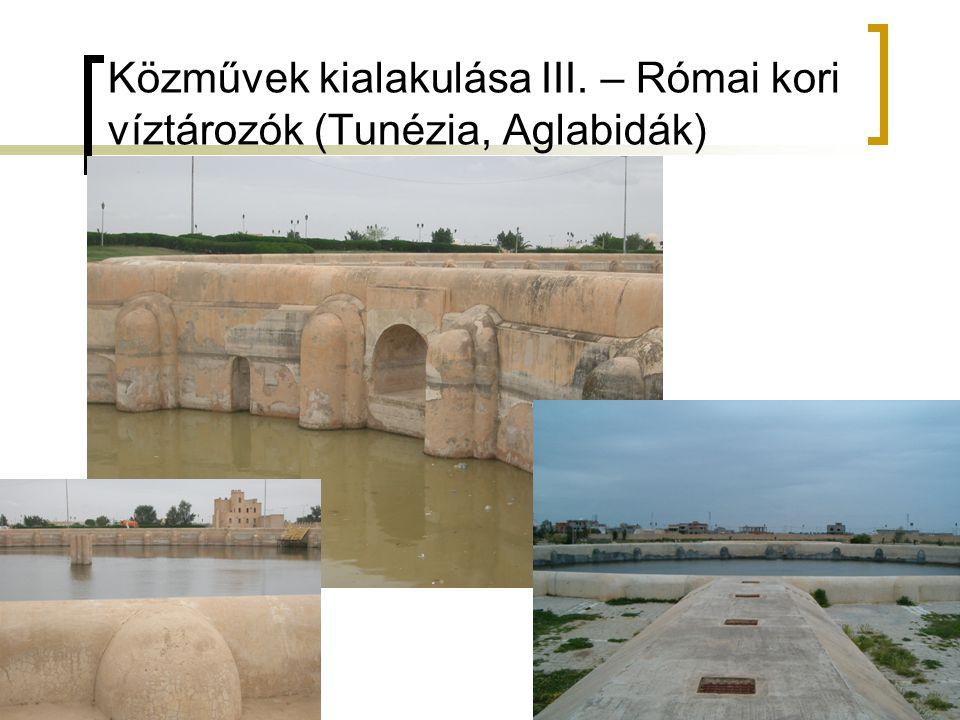 Közművek kialakulása III. – Római kori víztározók (Tunézia, Aglabidák)