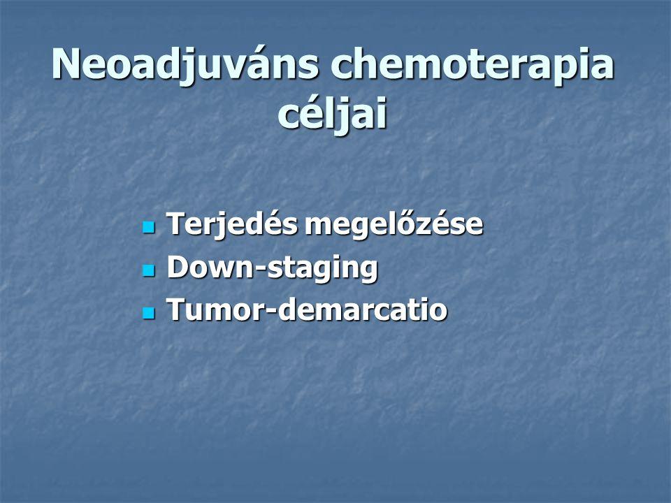 Neoadjuváns chemoterapia céljai