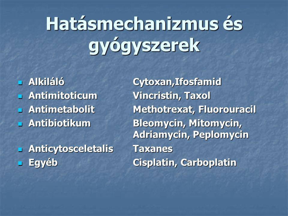 Hatásmechanizmus és gyógyszerek