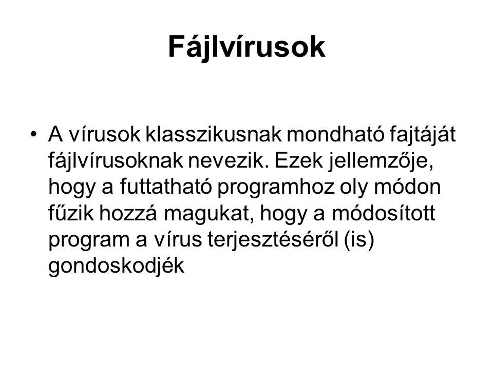 Fájlvírusok
