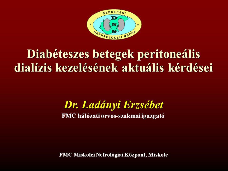 Diabéteszes betegek peritoneális dialízis kezelésének aktuális kérdései