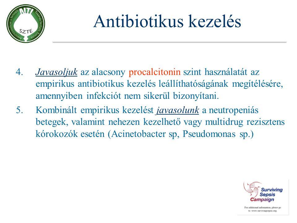 Antibiotikus kezelés