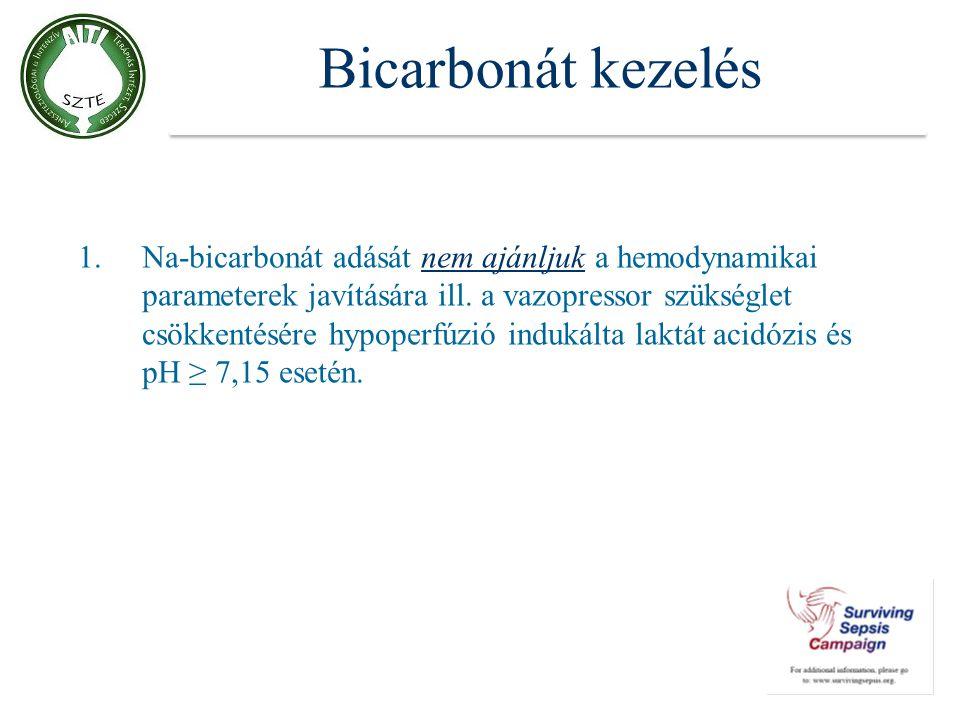 Bicarbonát kezelés