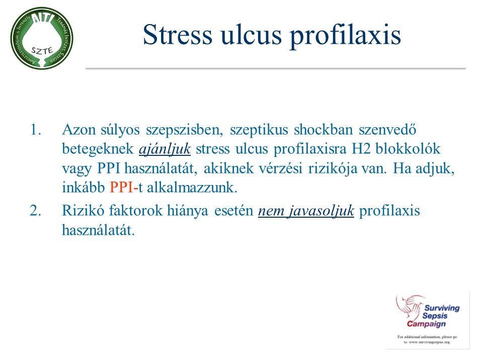 Stress ulcus profilaxis