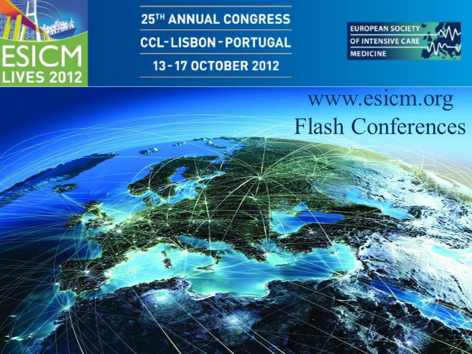 www.esicm.org Flash Conferences