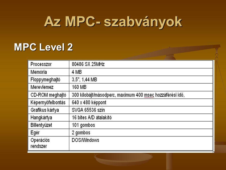Az MPC- szabványok MPC Level 2