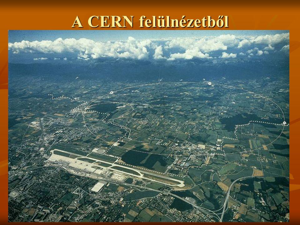 A CERN felülnézetből
