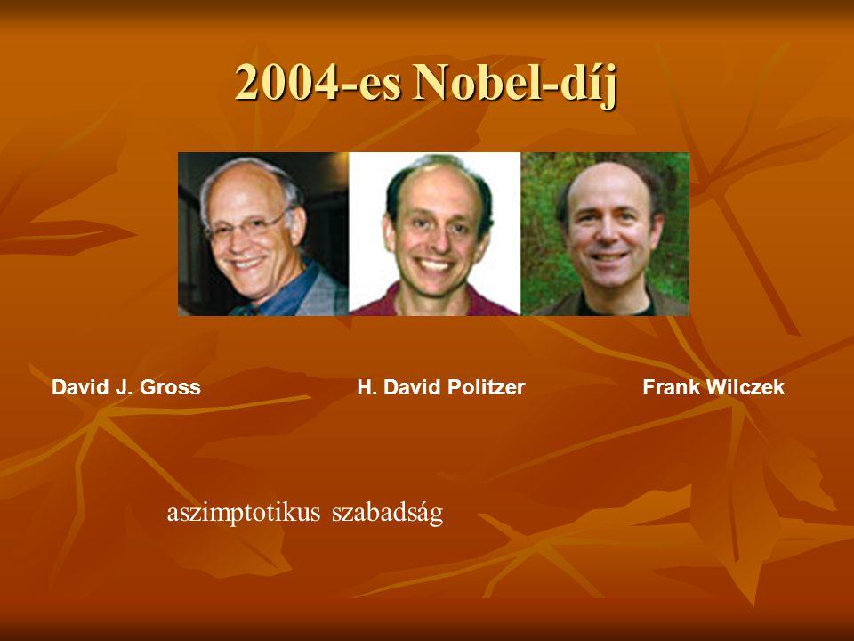 2004-es Nobel-díj aszimptotikus szabadság
