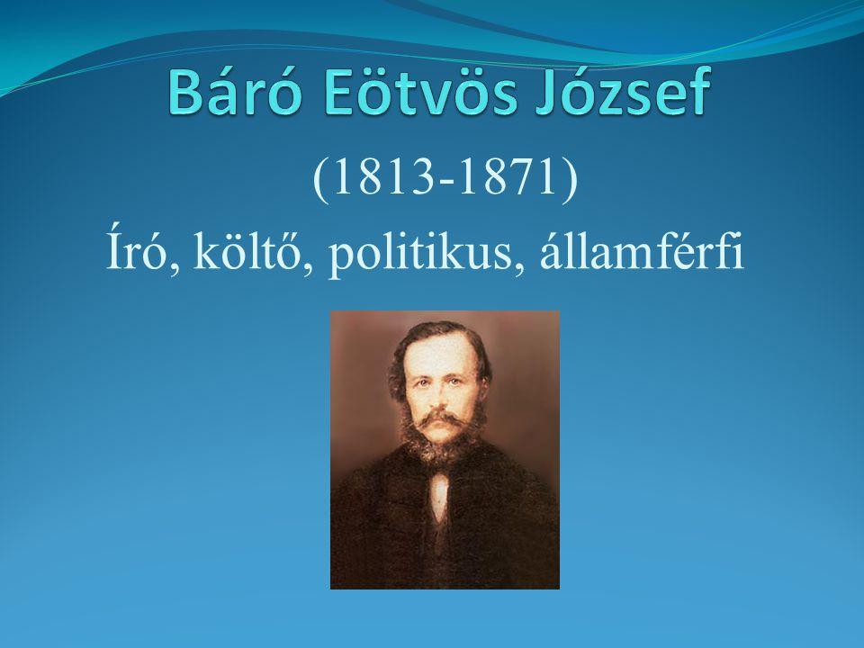 Író, költő, politikus, államférfi