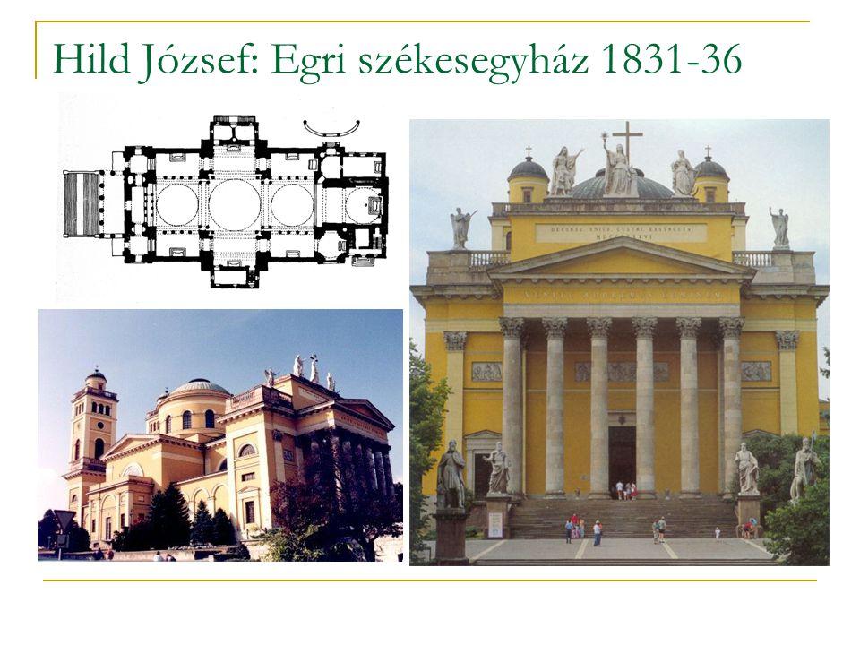 Hild József: Egri székesegyház 1831-36