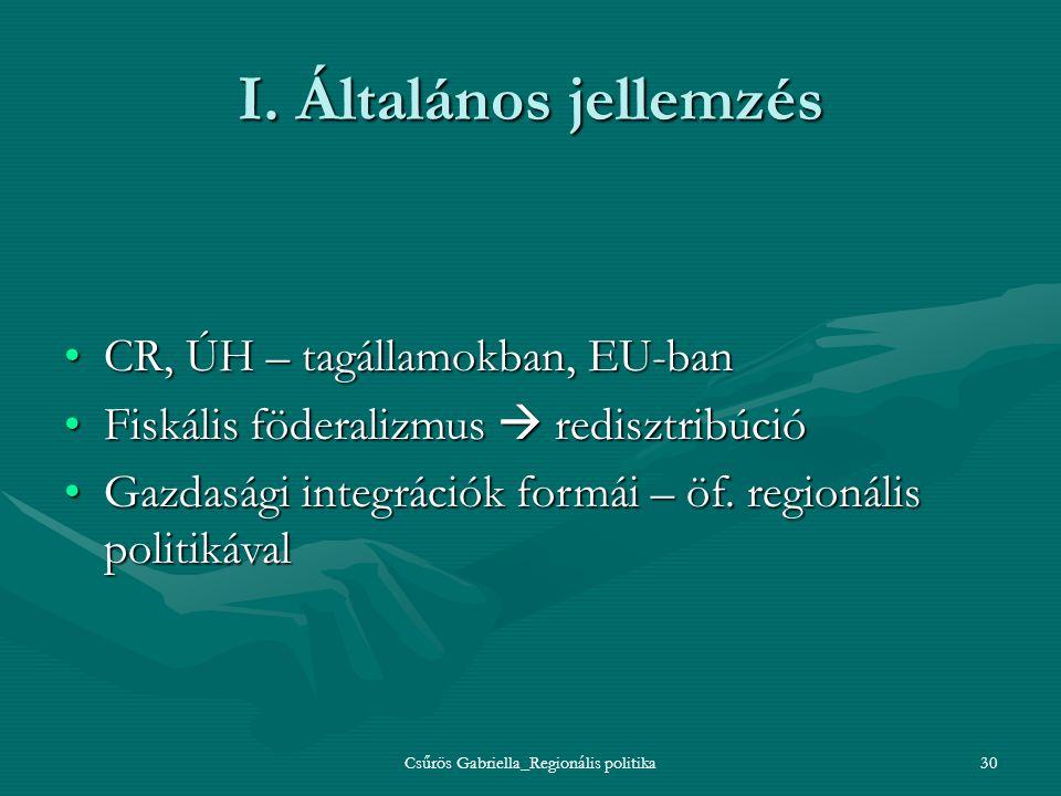 Csűrös Gabriella_Regionális politika