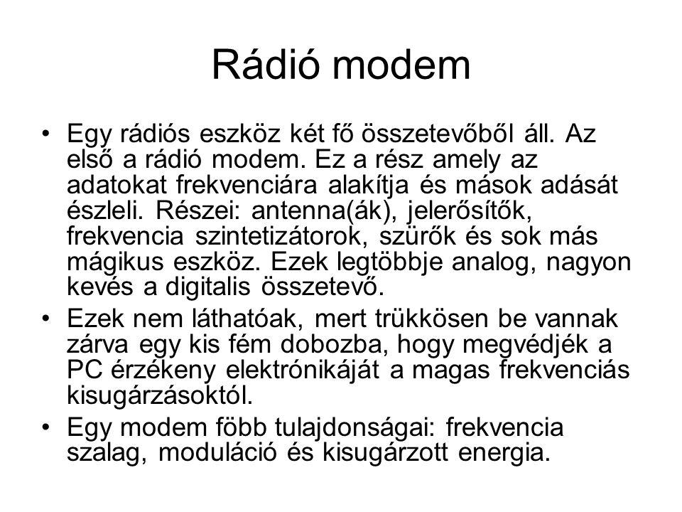 Rádió modem