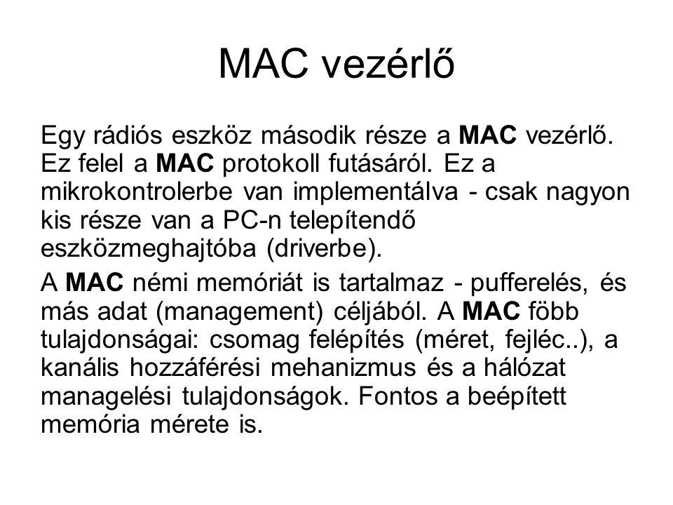 MAC vezérlő