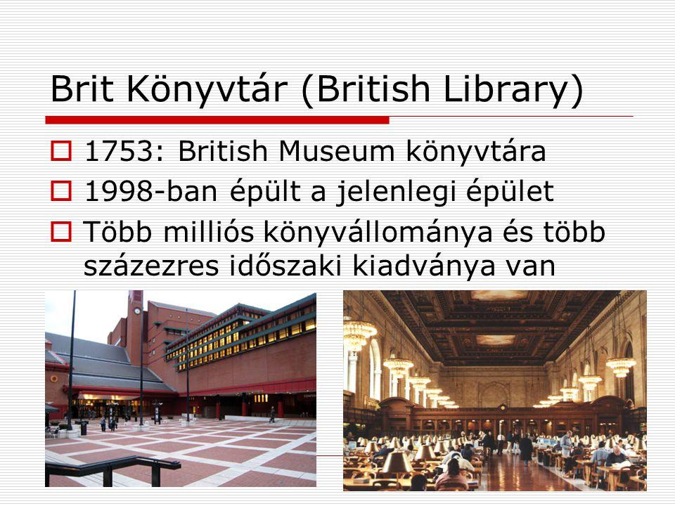 Brit Könyvtár (British Library)