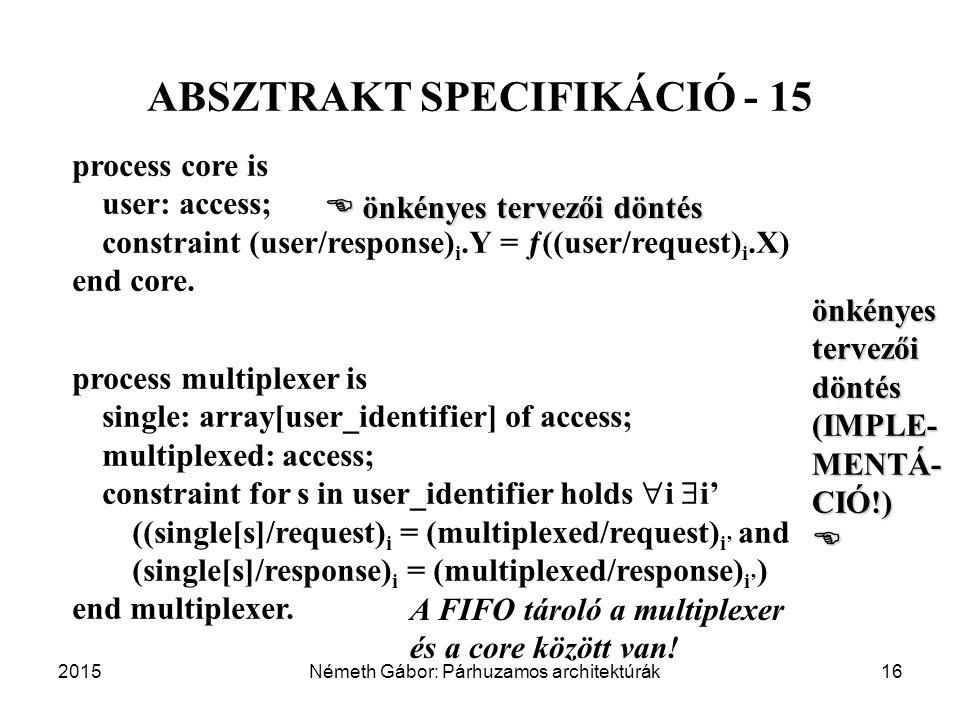 ABSZTRAKT SPECIFIKÁCIÓ - 15