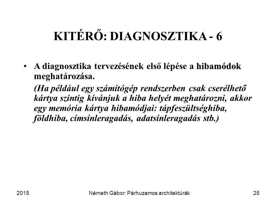KITÉRŐ: DIAGNOSZTIKA - 6
