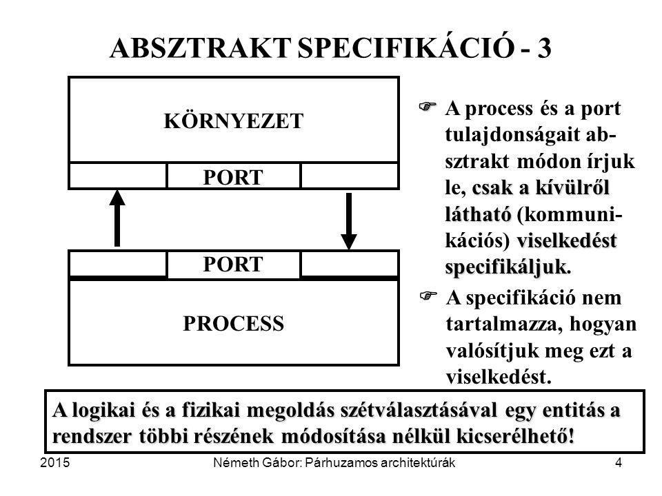 ABSZTRAKT SPECIFIKÁCIÓ - 3