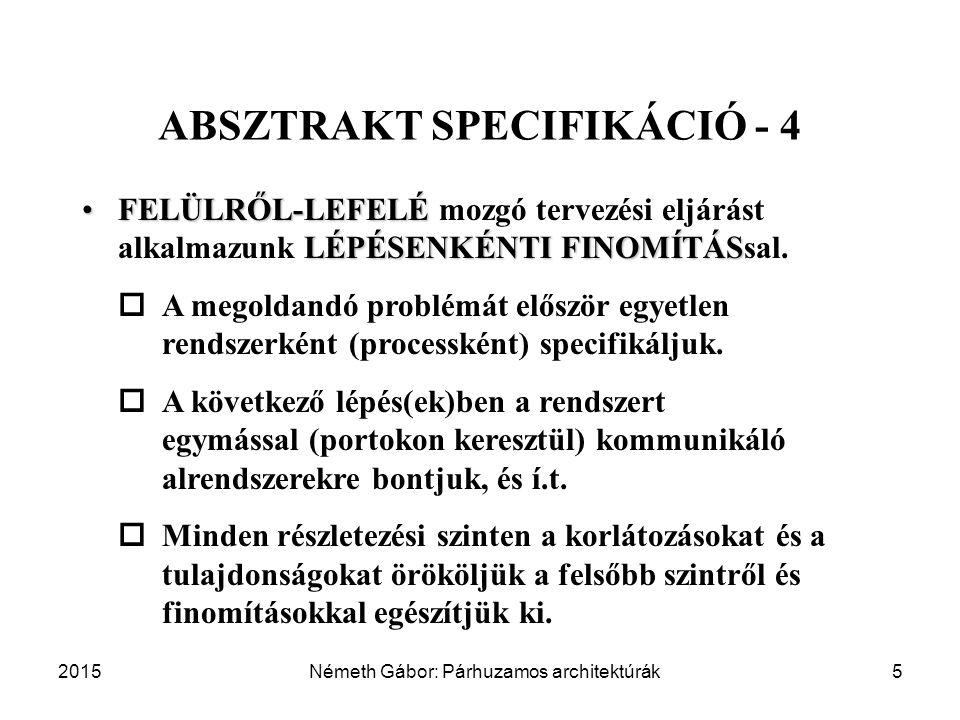 ABSZTRAKT SPECIFIKÁCIÓ - 4