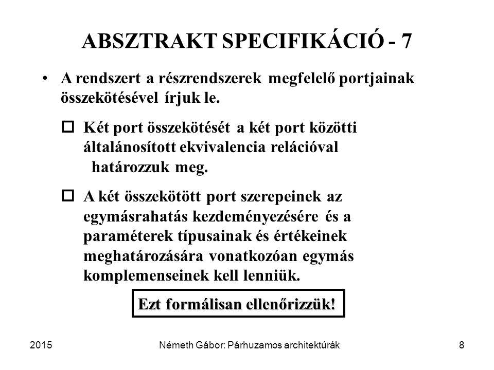 ABSZTRAKT SPECIFIKÁCIÓ - 7