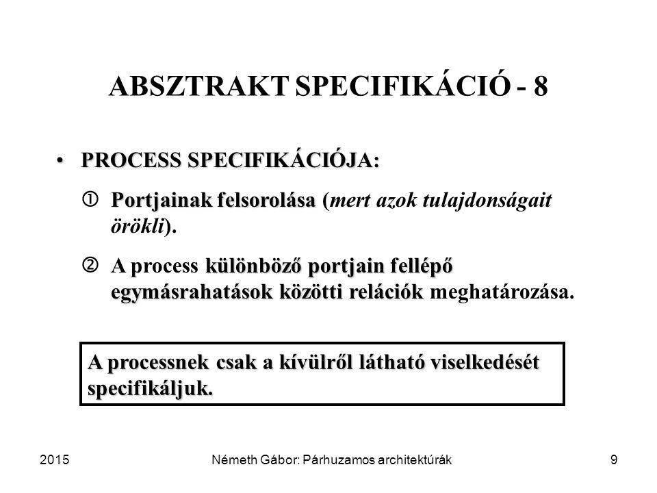 ABSZTRAKT SPECIFIKÁCIÓ - 8