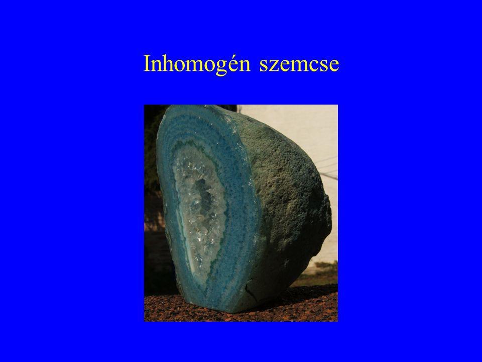 Inhomogén szemcse