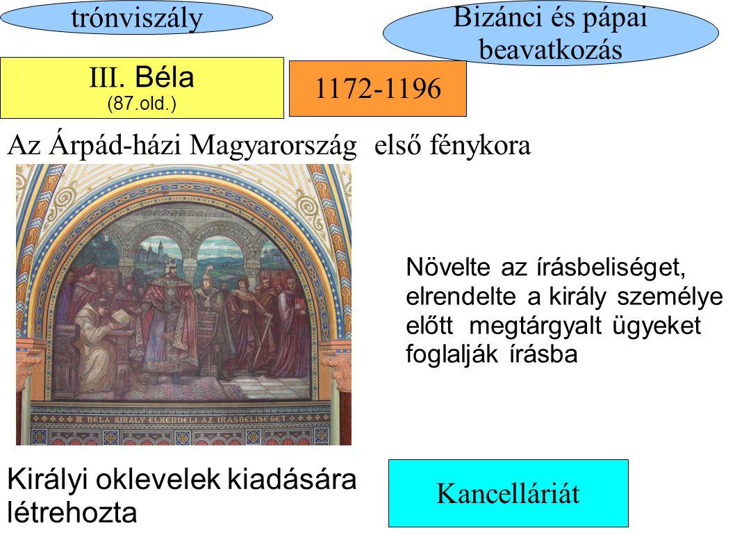Bizánci és pápai beavatkozás
