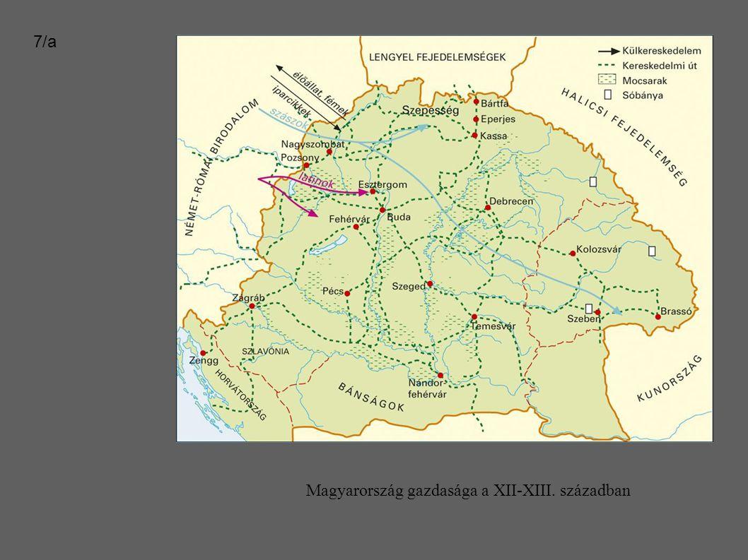 Magyarország gazdasága a XII-XIII. században