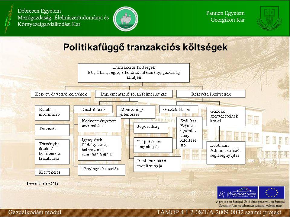 Politikafüggő tranzakciós költségek