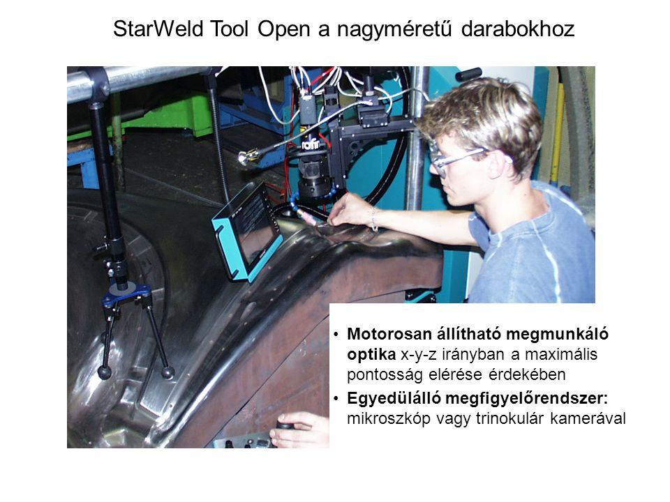 StarWeld Tool Open a nagyméretű darabokhoz