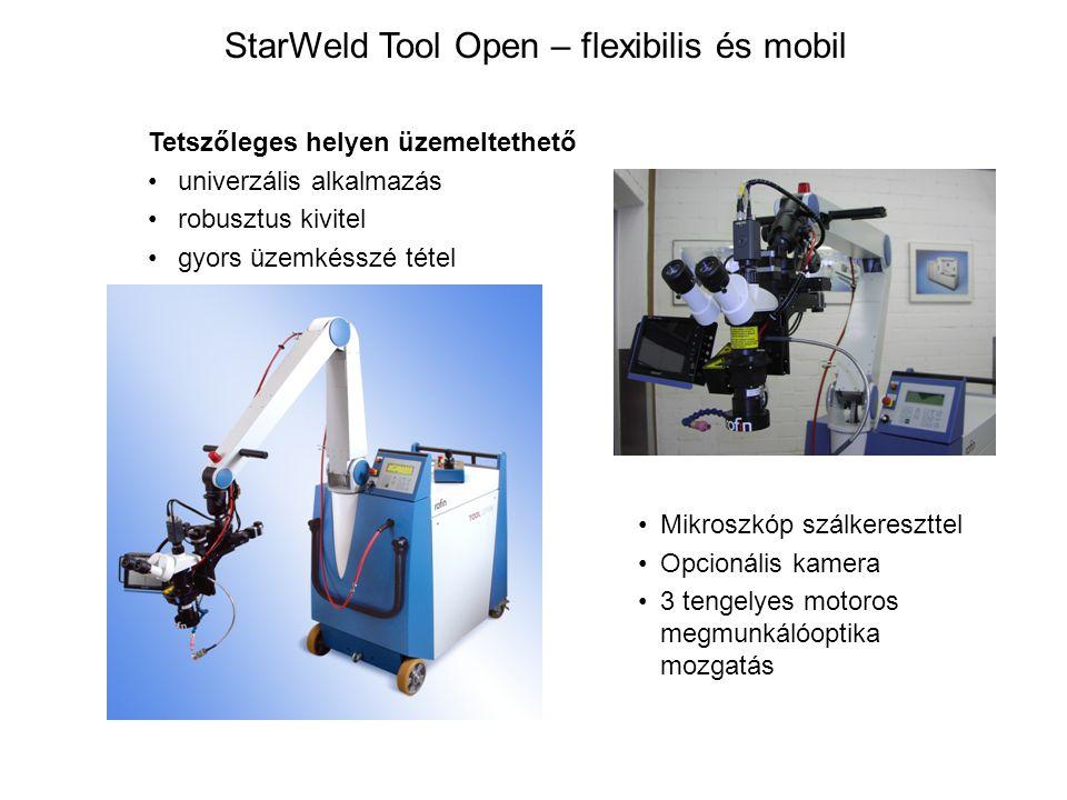 StarWeld Tool Open – flexibilis és mobil