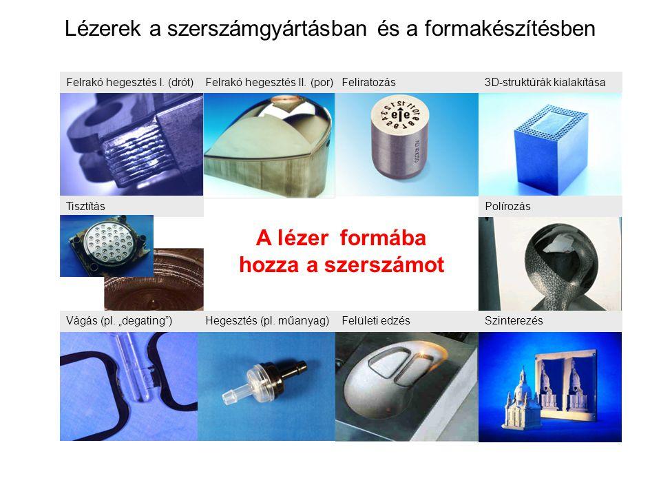Lézerek a szerszámgyártásban és a formakészítésben