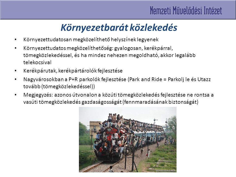 Környezetbarát közlekedés