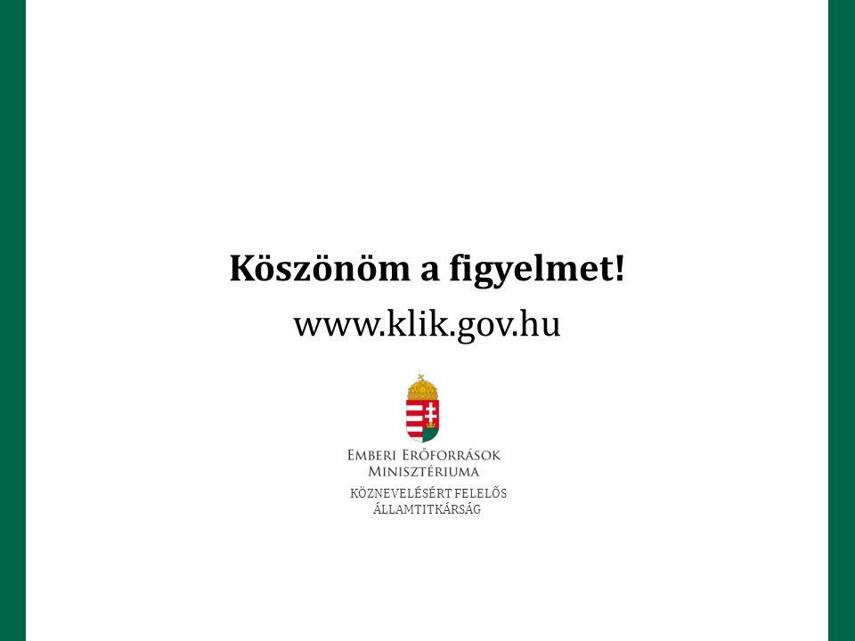 KÖZNEVELÉSÉRT FELELŐS ÁLLAMTITKÁRSÁG