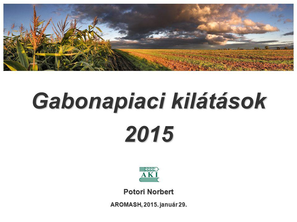 Gabonapiaci kilátások