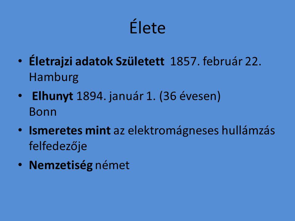 Élete Életrajzi adatok Született 1857. február 22. Hamburg
