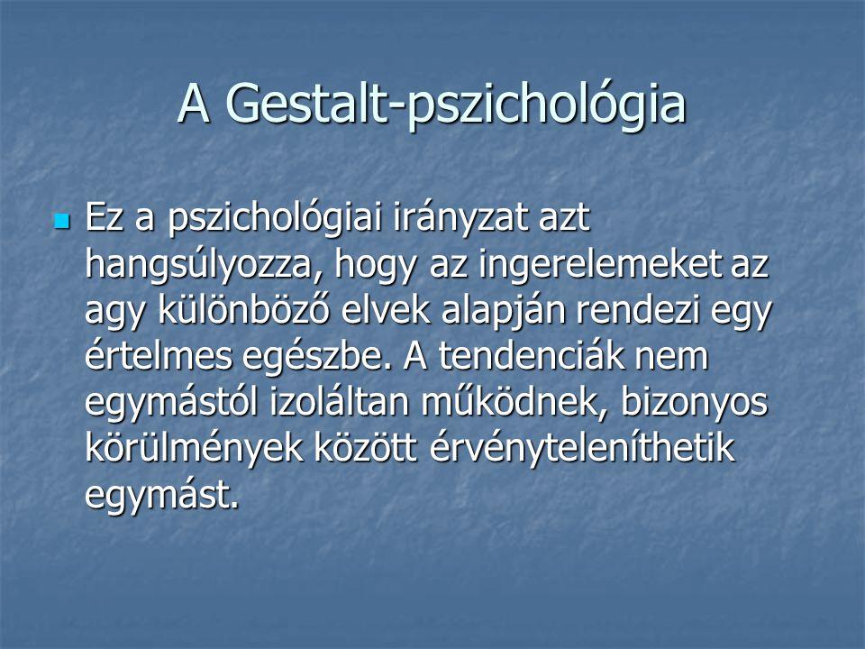 A Gestalt-pszichológia