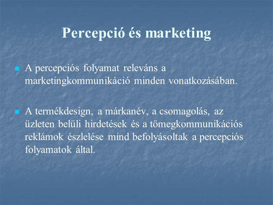 Percepció és marketing