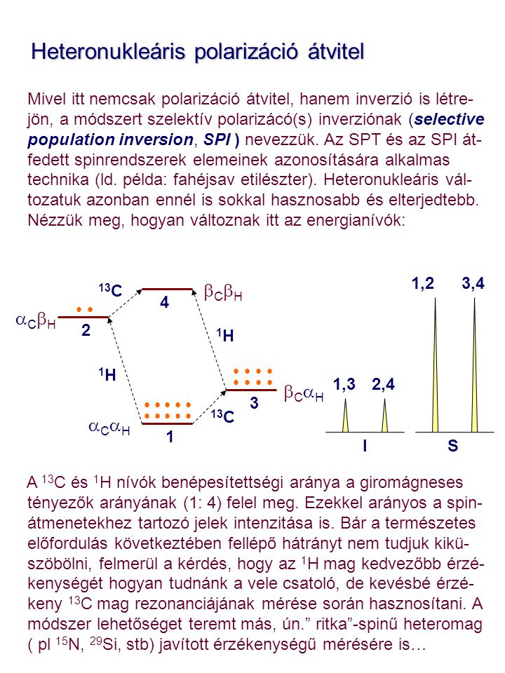 Heteronukleáris polarizáció átvitel