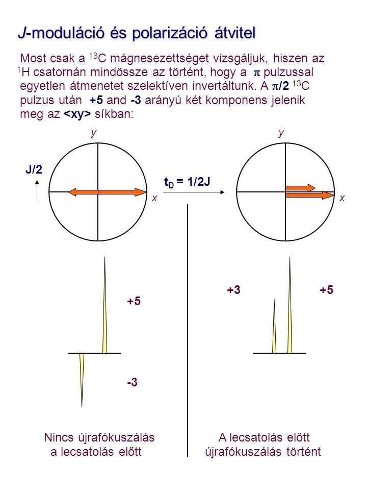 J-moduláció és polarizáció átvitel