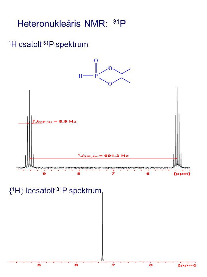 Heteronukleáris NMR: 31P