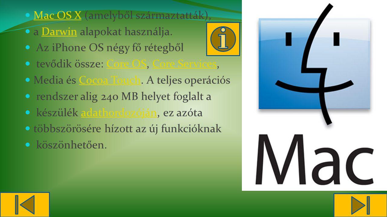 Mac OS X (amelyből származtatták),