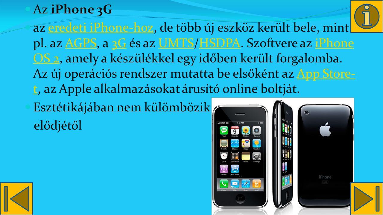 Az iPhone 3G