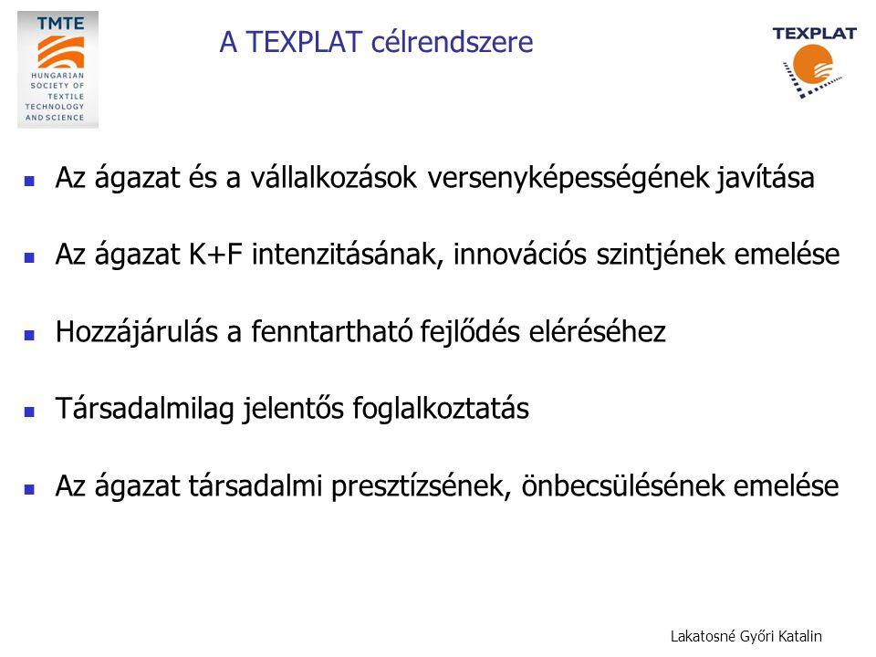 A TEXPLAT célrendszere