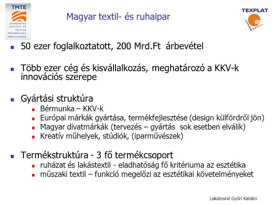 Magyar textil- és ruhaipar