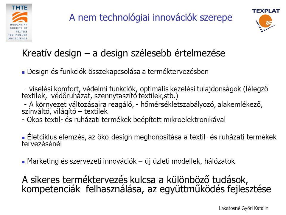 A nem technológiai innovációk szerepe