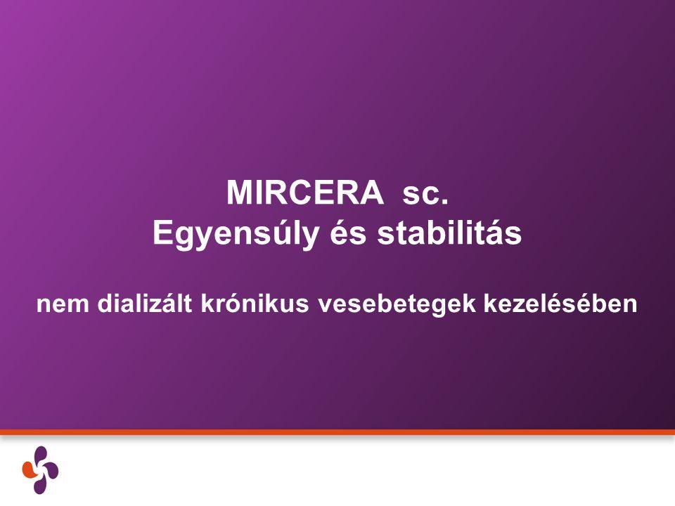 MIRCERA sc. Egyensúly és stabilitás